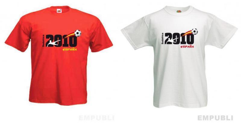 Regalamos Camisetas mundial Futbol 2010
