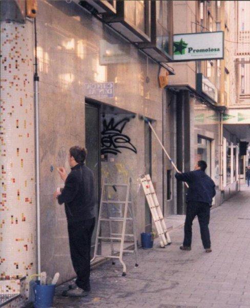 eliminacion de graffittis