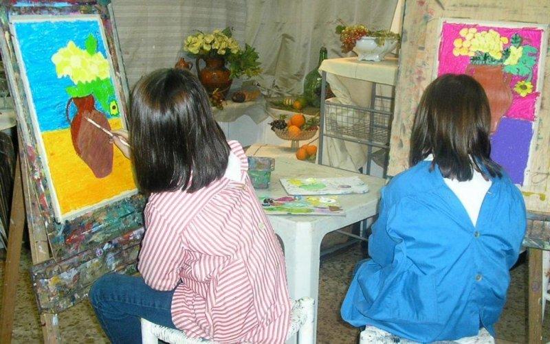 Talleres infantiles en Estudios Solana-Taller de Arte Chamartin
