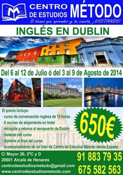 Curso de Inglés en Dublin