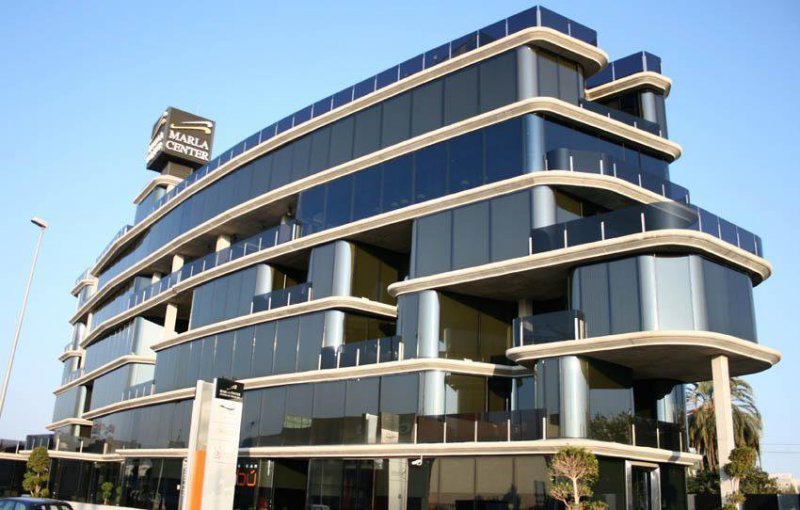 Edificios de oficinas Murcia- Marla center 1- zorg arquitectos