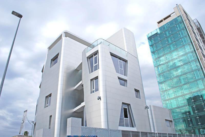 Edificios de oficinas Murcia- Clinica centrofama 2- zorg arquitectos