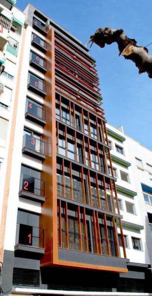 Edificios vivienda Murcia- Puertas de Orihuela 1- zorg arquitectos