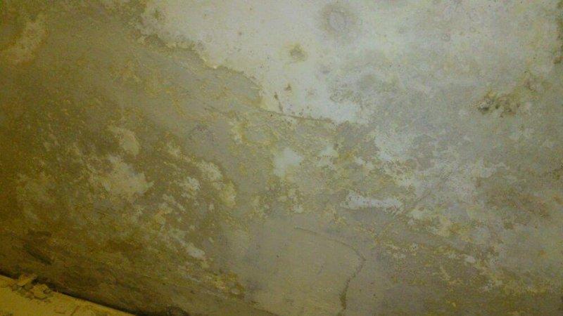 Humedad por condensación en pared