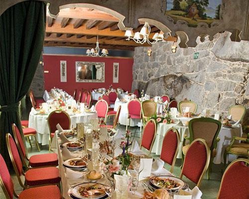Impresionante salón  de celebración en abadia caldaria