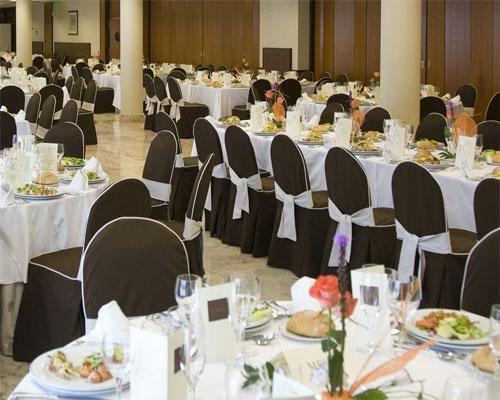 Uno de los cuatro salones de celebración de laias caldaria
