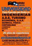 Placa Clases Menéndez-García, Calle Carreño Miranda,1-AVILÉS