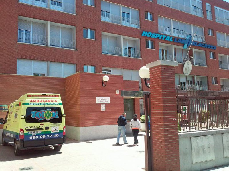 Urgedesa en Hospital la Milagrosa de Madrid