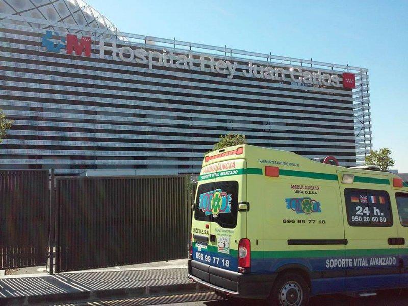 Urgedesa en Hospital Rey J Carlos I de Madrid