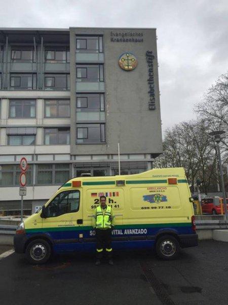 Urgedesa en Hospital de Alemania (Frankfurt)