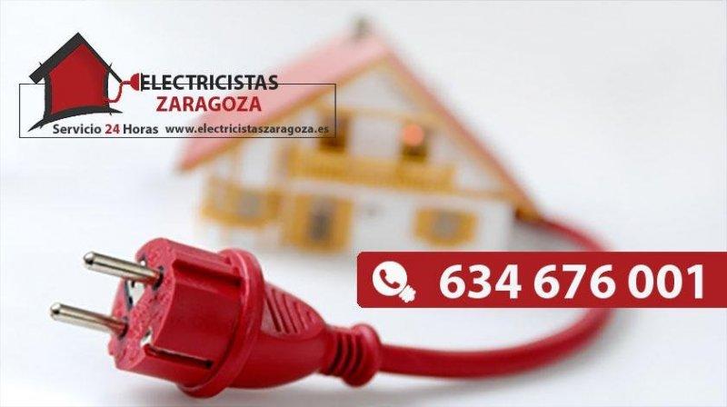 Servicio de Electricistas Urgentes en Zaragoza 24 horas