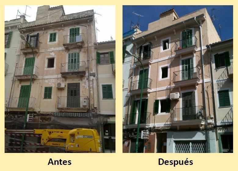 Empresa de reformas de pisos, casas, cocinas, baños, rehabilitación de fachadas e impermeabilizaciones en palma de mallorca