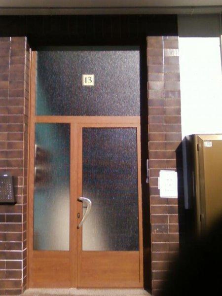 puertas de portal tanto pvc como aluminio