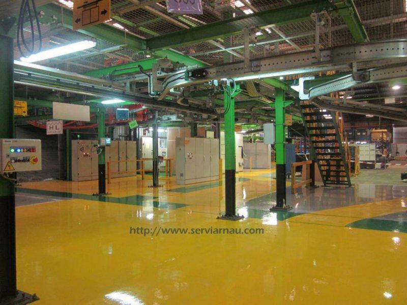Serviarnau, pavimentos y pintura industrial en Valencia
