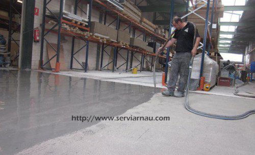 mortero autonivelante cementoso