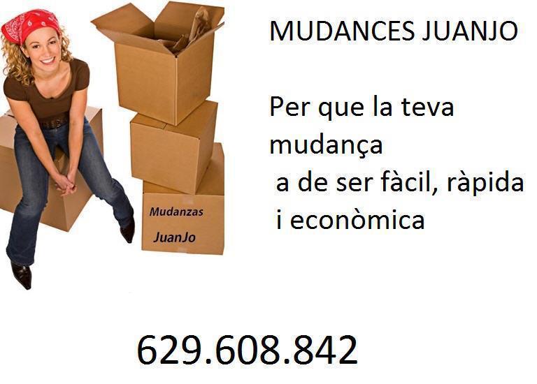 Mudanzas Juanjo, mudanzas desde Lleida