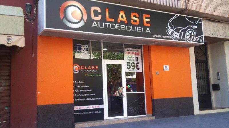 Autoescuela Clase, tu autoescuela en Valencia