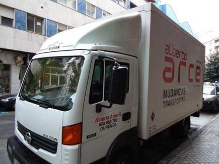 Mudanzas y Transportes Alberto Arce