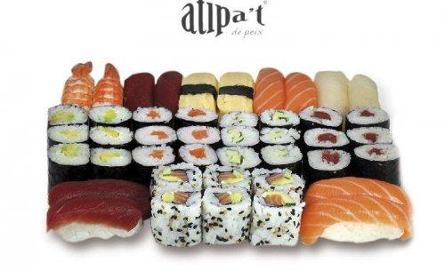Atipat de sushi