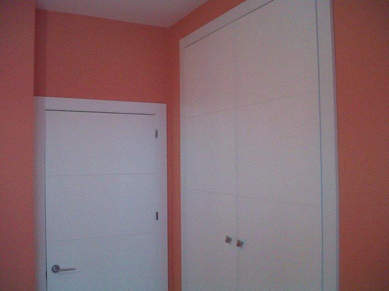 puertas lacadas blanco y armarios lacados