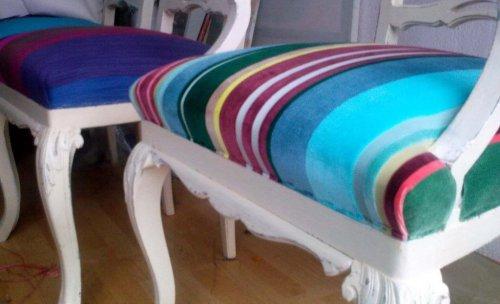 Tapiceria de sillas tejido Roche Bobois