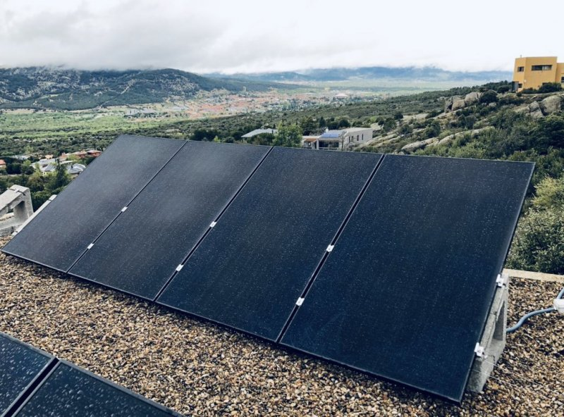 INSTALACIÓN PLACAS SUNPOWER SIERRA DE MADRID
