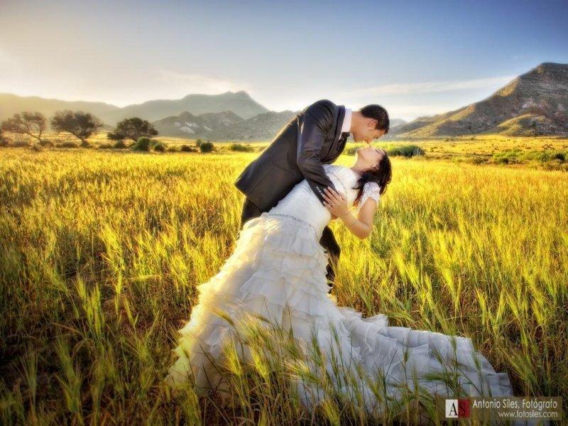 Atardecer en mi boda