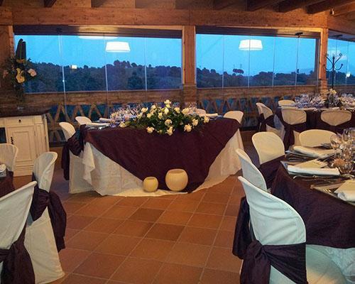 Amplios jardines para ceremonia y aperitivos