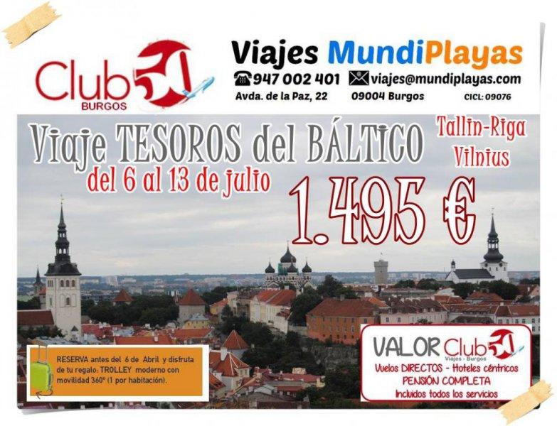 Club50 Burgos Viajes MundiPlayas