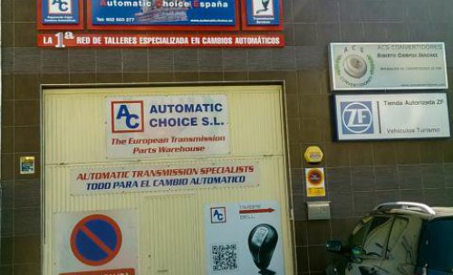 Recambios cajas de cambios automáticas - Automatic Choice