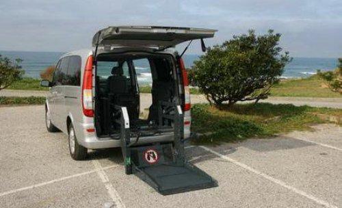 mercedes-viano, sillas de ruedas