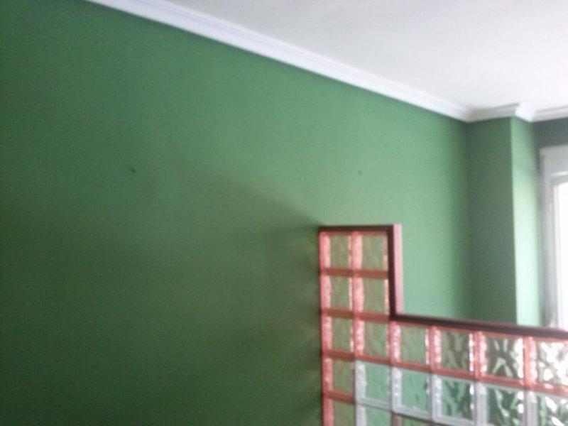 pintado color verde oliva
