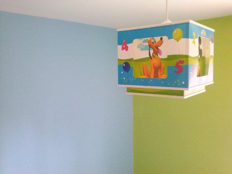 paredes en varios tonos