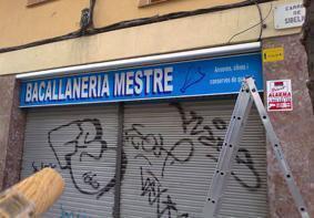 Rótulos en Barcelona