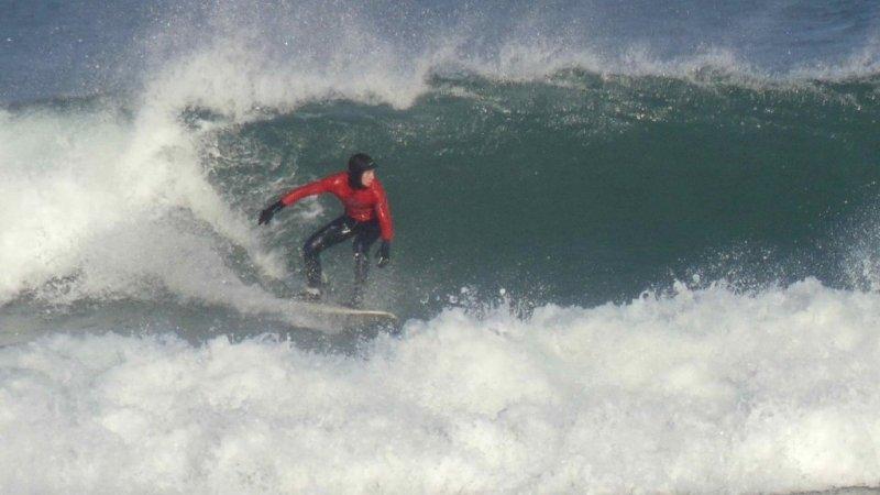 dominio de maniobra en la ola