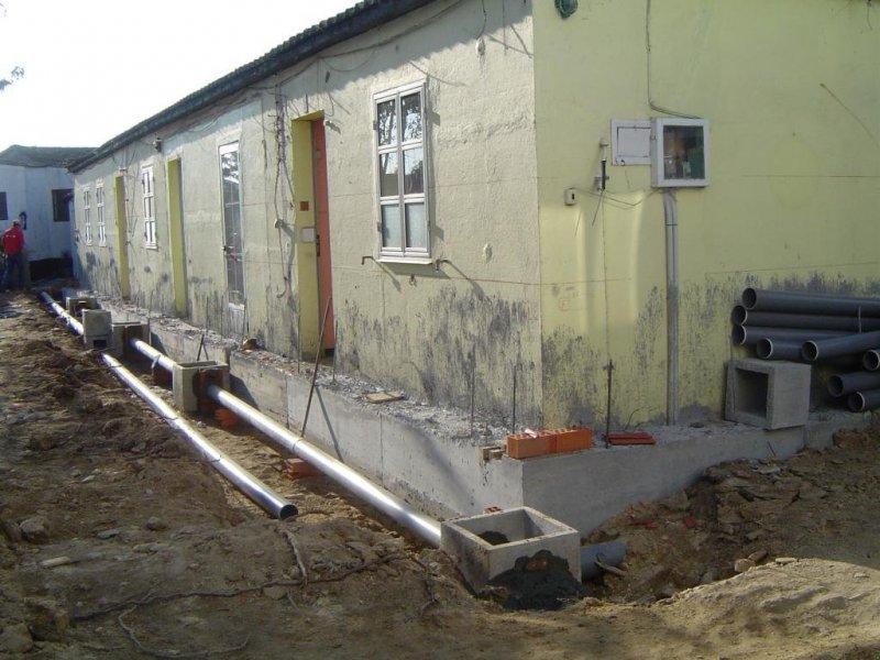 Restauración de vivienda. Estado inicial