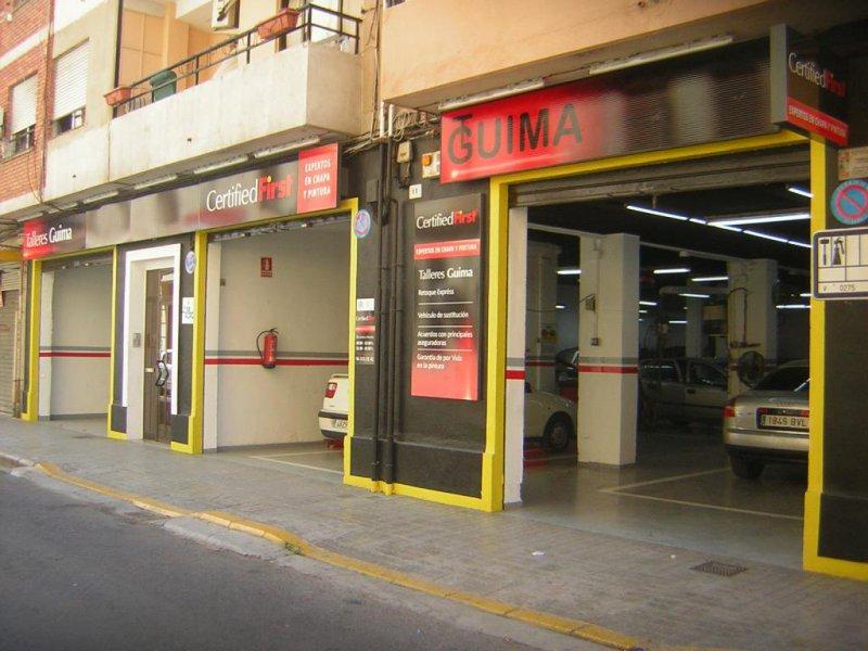 Talleres Guima, taller de chapa y pintura en Valencia