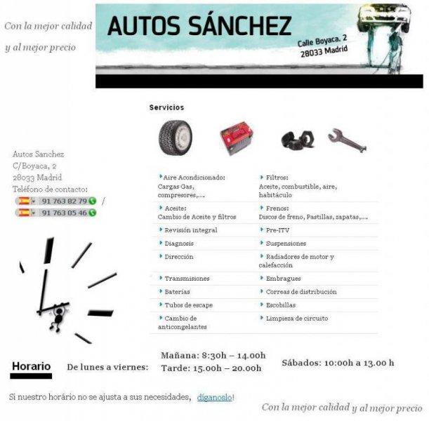 Autos Sanchez