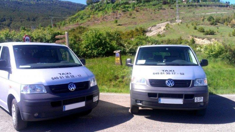 Flota vehículos Taxi Artieda y Sigüés