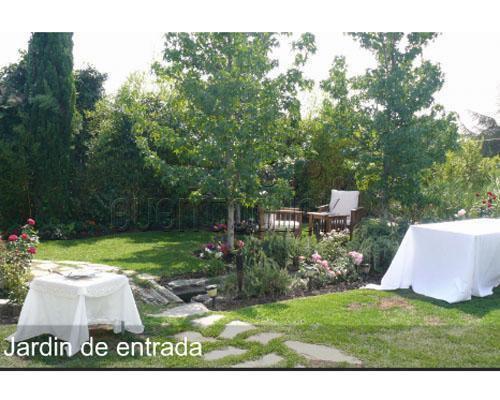 Jardin de entrada