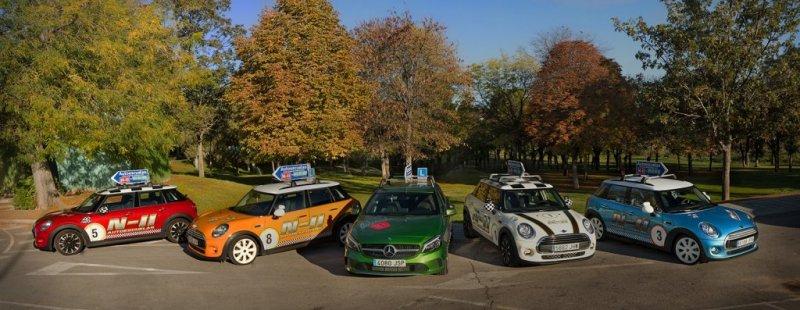 Flota Minis y Mercedes