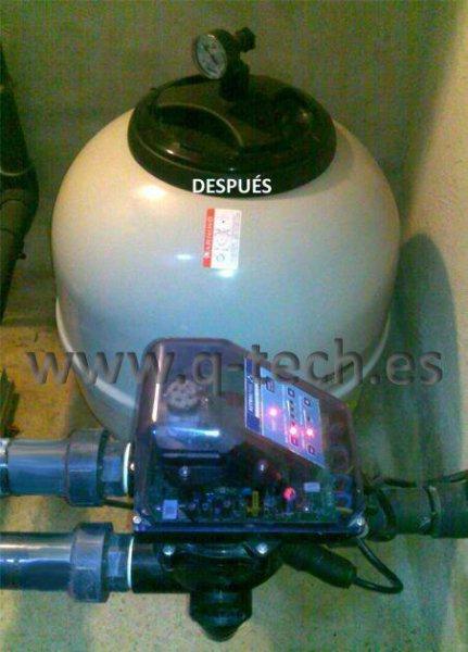 Válvula Selectora Automática - Depuradora Piscina Privada