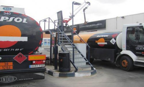 Centro de carga y descarga SuministroIC - Gasóleos a domicilio