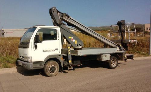 Camiones con Cesta hasta 18 mts