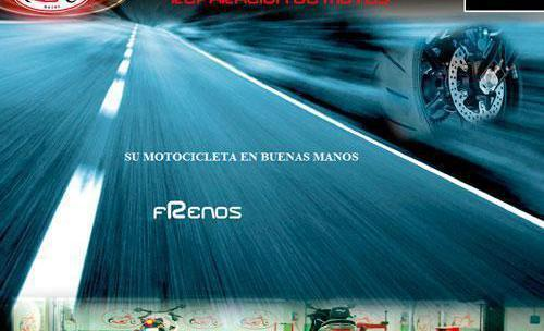 Presentación web realizada para Trimotos. Taller oficial de motos de El Corte Inglés de Madrid