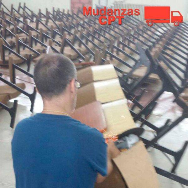 Desmontaje mobiliario Mudanzas y Transportes CPT Valencia