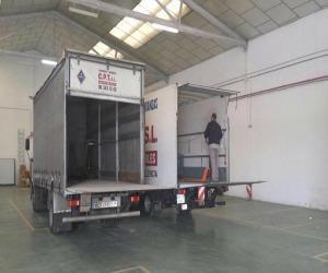 Camión Mudanzas y Transportes CPT Valencia
