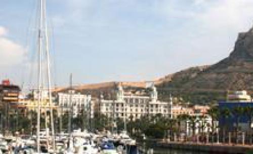 foto puerto de Alicante