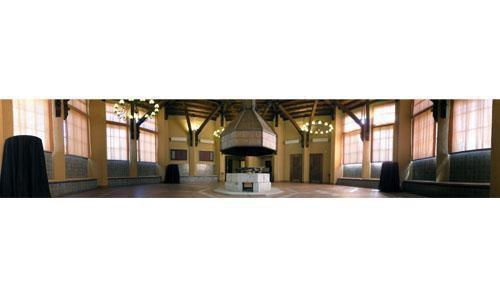 Panorámica salón octogonal