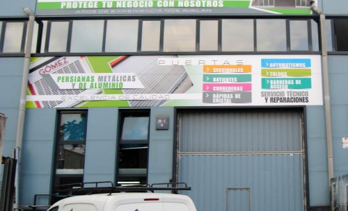 Nuestra sede en Polígono de Morero, nave 1-4